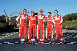 #180 Kessel Racing Ferrari 458: Gautam Singhania en la parrilla