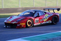 Машина #208 Ferrari of Fort Lauderdale Ferrari 458