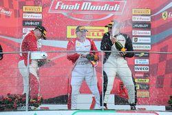 Coppa Pirelli NA : les festivités sur le podium