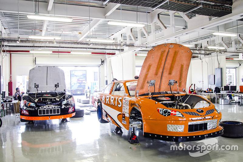 Garaje de Telcel Racing