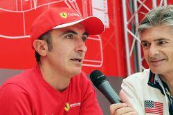 Andrea Bertolini, pilote d'essais Ferrari