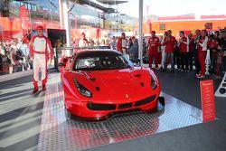 Презентация Ferrari 488 GT3