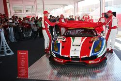 Презентация Ferrari 488 GTE