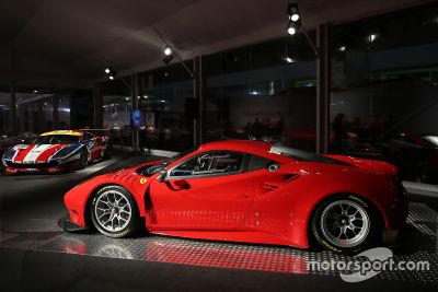Présentation Ferrari 488 GTE et Ferrari 488 GT3