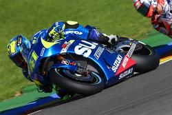 Aleix Espargaro, Team Suzuki MotoGP et Andrea Dovizioso, Ducati Team