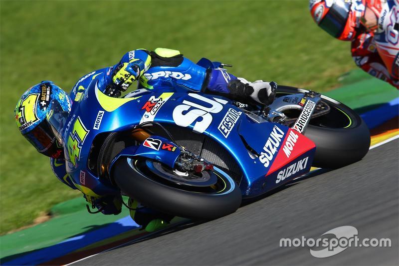 Aleix Espargaro, Team Suzuki MotoGP en Andrea Dovizioso, Ducati Team