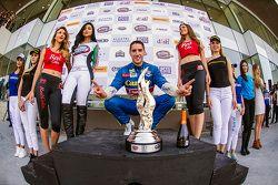 Rubén García Jr. Canel's Racing celebra en el Victory Lane
