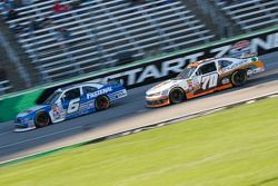 Darrell Wallace Jr., Roush Fenway Racing Ford and Derrike Cope, Derrike Cope Racing Chevrolet