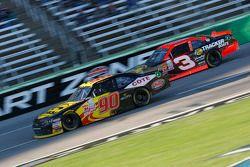 Martin Roy, King Autosport Chevrolet e Ty Dillon, Richard Childress Racing Chevrolet