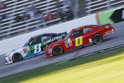Blake Koch, TriStar Motorsports Toyota e Harrison Rhodes, JD Motorsports Chevrolet