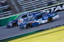 Eric McClure and Regan Smith, JR Motorsports Chevrolet