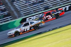 Derrike Cope, Derrike Cope Racing Chevrolet and Ty Dillon, Richard Childress Racing Chevrolet