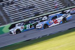 Blake Koch, TriStar Motorsports Toyota e Brian Scott, Richard Childress Racing Chevrolet