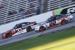 Austin Dillon, Richard Childress Racing Chevrolet e Brad Keselowski, Team Penske Ford