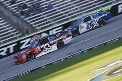 Austin Dillon, Richard Childress Racing Chevrolet and Eric McClure