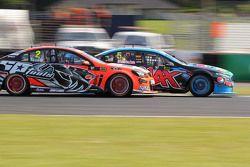 Mark Winterbottom, Prodrive Racing Australia Ford and Garth Tander, Holden Racing Team