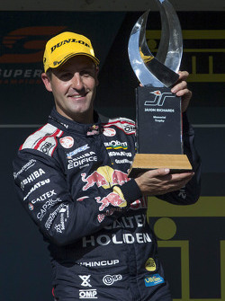 Winner Jamie Whincup, Triple Eight Race Engineering Holden with the Jason Richards Memorial Trophy