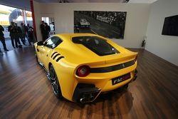La présentation de la Ferrari F12tdf, aux Finali Mondiali Ferrari