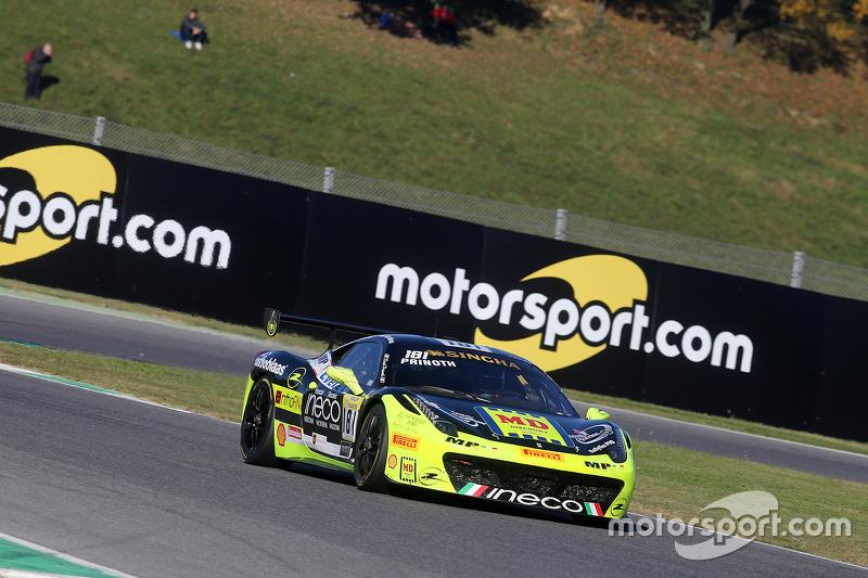 #181 Ineco - MP Racing Ferrari 4548: Erich Prinoth