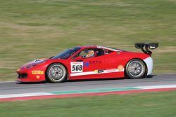 #568 CTF Group Ferrari 458: Янбин Цинь