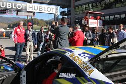 Фото с Маурицио Арривабене, руководителем команды Scuderia Ferrari