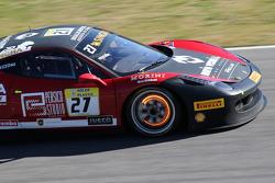 #27 Rosso Corsa - Pellin Racing Ferrari 458 : Alessandro Vezzoni