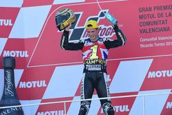 Podium: world champion 2015 Danny Kent, Leopard Racing