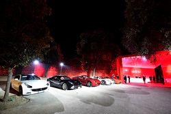 Entrée de la cérémonie de remise des trophées du Ferrari Challenge