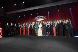 Cérémonie de remise des trophées du Ferrari Challenge