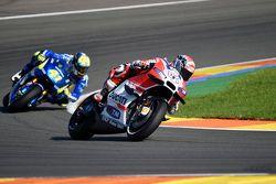 Андреа Довициозо, Ducati Team и Алеш Эспаргаро, Team Suzuki MotoGP