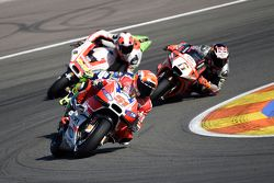 Michele Pirro, Ducati Team and Stefan Bradl, Aprilia Racing Team Gresini and Danilo Petrucci, Pramac