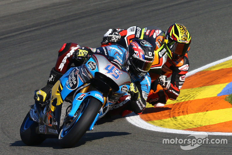 Scott Redding, Marc VDS Racing Honda and Loris Baz, Forward Racing Yamaha
