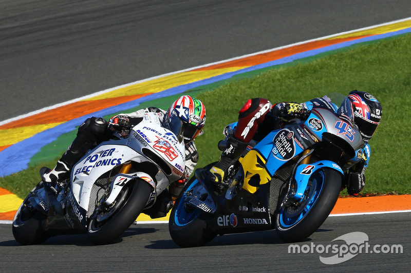 Scott Redding, Marc VDS Racing Honda and Nicky Hayden, Aspar Team MotoGP