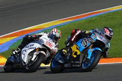 Scott Redding, Marc VDS Racing Honda and Nicky Hayden, Aspar Team MotoGP