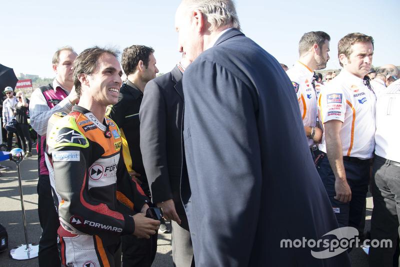 Toni Elias, Forward Racing Yamaha y El Rey Juan Carlos