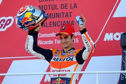 Podium: Third place Dani Pedrosa, Repsol Honda Team