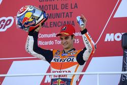 Podium: Tercer lugar, Dani Pedrosa, Repsol Honda Team