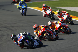 Jorge Lorenzo, Yamaha Factory Racing and Marc Marquez and Dani Pedrosa, Repsol Honda Team