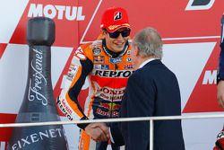 Подиум: второе место - Марк Маркес, Repsol Honda Team