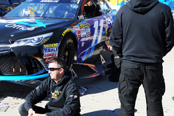 La NASCAR confisque les splitters des voitures de Joe Gibbs Racing