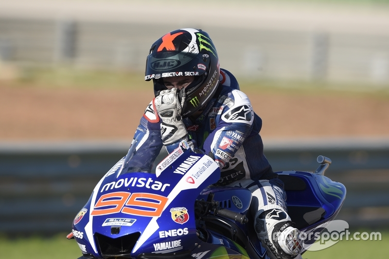 Переможець та 2015 MotoGP Champion Хорхе Лоренцо, Yamaha Factory Racing