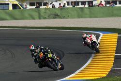 Bradley Smith, Tech 3 Yamaha and Danilo Petrucci, Pramac Racing Ducati
