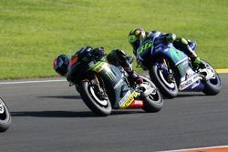 Bradley Smith, Tech 3 Yamaha and Valentino Rossi, Yamaha Factory Racing
