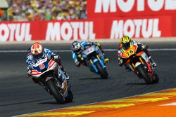 Hector Barbera, Avintia Racing Ducati en Loris Baz, Forward Racing Yamaha en Scott Redding, Marc VDS