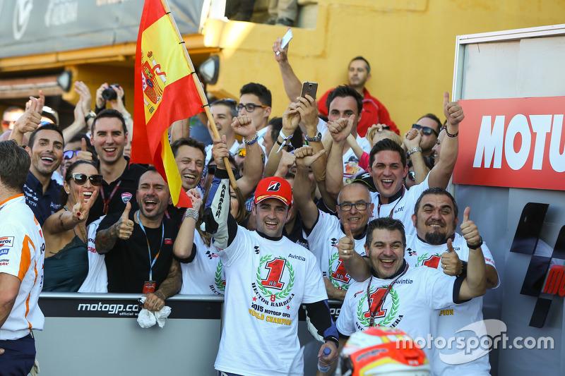 Open Class Winner and 2015 Champion Hector Barbera, Avintia Racing Ducati