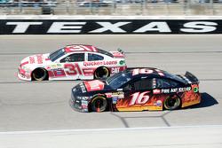 Ryan Newman, Richard Childress Racing Chevrolet ve Greg Biffle, Roush Fenway Racing Ford