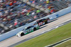 Matt Dibenedetto, BK Racing Toyota and Jeb Burton, BK Racing Toyota