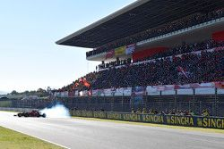 Kimi Raikkonen, Ferrari burnout