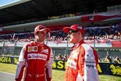 Kimi Raikkonen, Ferrari and and Esteban Gutierrez, Ferrari Test and Reserve Driver