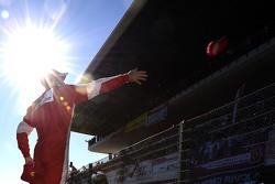 Sebastian Vettel, Ferrari da capas para los aficionados